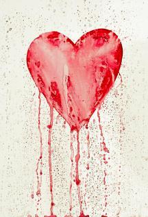 bleeding heart by michal boubin