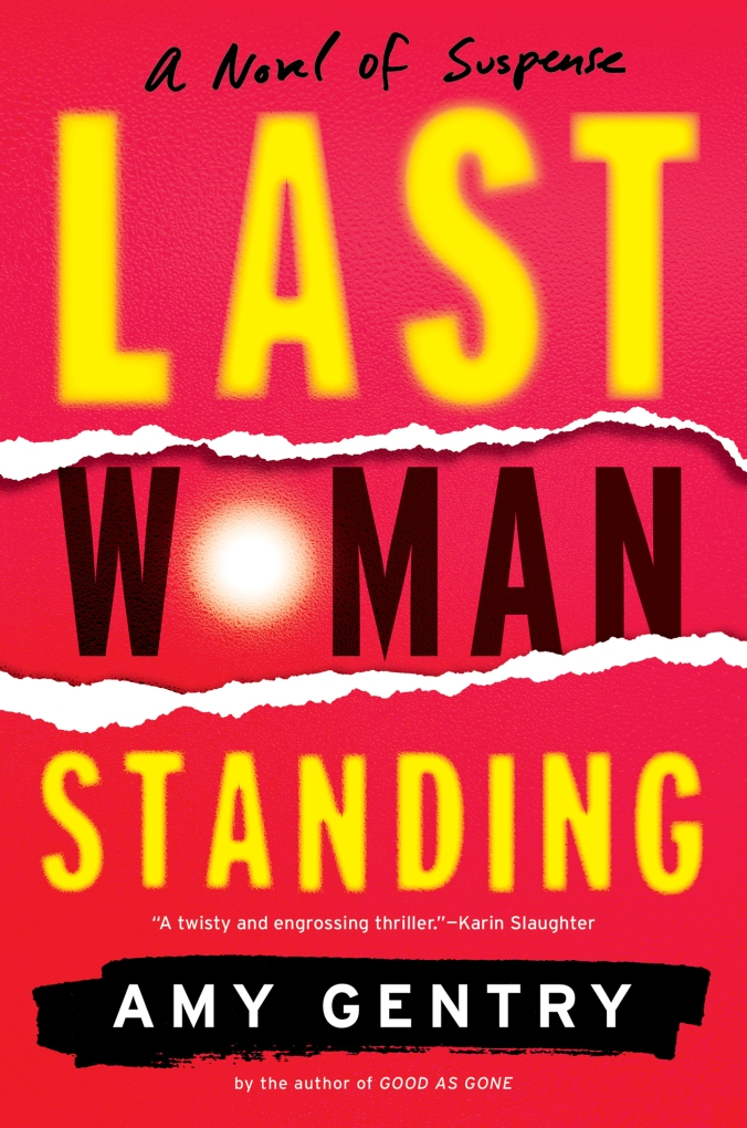 Last Woman Standing-9780544962538