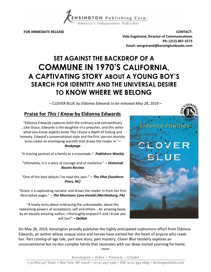 pressrelease-clover-blue-by-eldonna-edwards